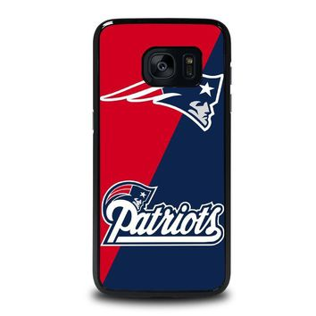 new england patriots samsung galaxy s7 edge case cover  number 1