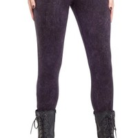 Women's Snow Washed Leggings