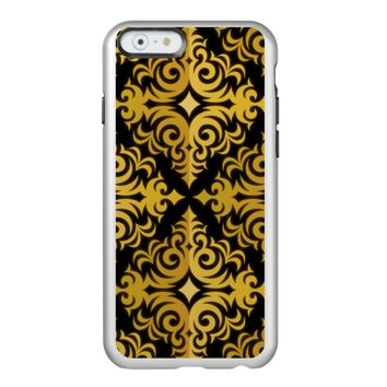 golden print on black backround incipio feather® shine iPhone 6 case