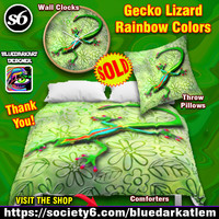 BluedarkArt • SOLD #WallClocks, #Comforters, #Pillows -...