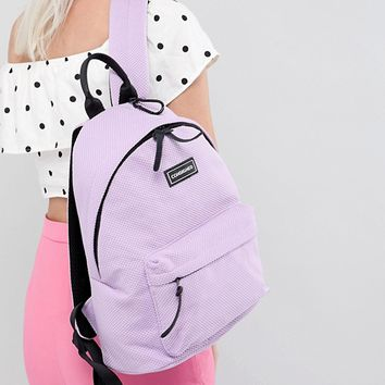 Consigned Sneaker Fabric Backpack at asos.com