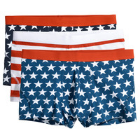 H&M - 3-pack Boxer Shorts - Blue/stars - Men