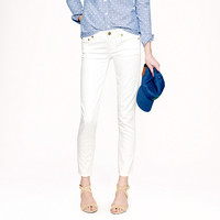 Cropped matchstick jean in white denim - Jeans - Women's pants - J.Crew