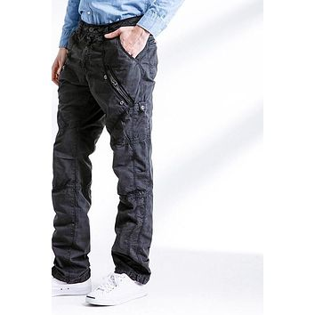 Men Pants New Men's Cargo Pants Army Casual Hip Pop Trousers Military Pantaloon With Zipper