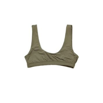 Bra Top - Olive Drab