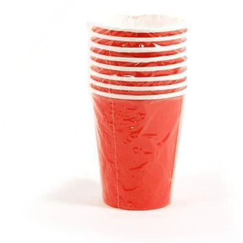 Red Paper Cups Case Pack 36