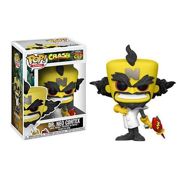 Crash Bandicoot Dr. Neo Cortex POP! Vinyl Figure