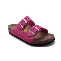 Birkenstock Arizona Sandals Suede Pink - Ready Stock