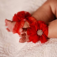 Red Barefoot Sandals