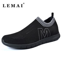 Men Breathable Mesh Running Shoes ,Unisex Soft Sport Sneakers for Men's and Women Athletic Shoes Summer Platform Free Run Shoes