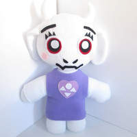 Toriel Plush Inspired by Undertale , Goat Mom Plush