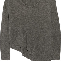 Helmut Lang - Asymmetric knitted sweater