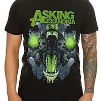 Asking Alexandria Teeth Slim-Fit T-Shirt - 951656