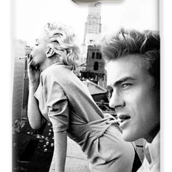 Marilyn Monroe And James Dean New York Iphone 6 Plus Cover Case 2011 Galaxy S6 Case