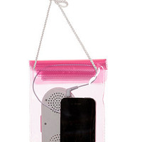 Mollaspace Speaker Water Resistant Pouch in Pink