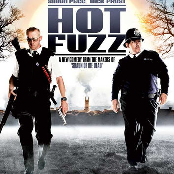 Hot Fuzz 11x17 Movie Poster (2007)