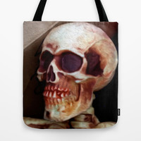 Skully  Tote Bag by Bruce Stanfield