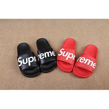 Supreme Couples Unisex Supreme Slippers Home Beach Wear