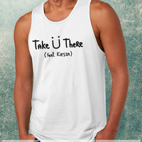 Jack Ü, Take Ü There Clothing Tank Top For Mens