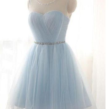 Thin bridesmaid dresses years will host skirt short dress wedding bridesmaid dress suit small sisters homecoming dress