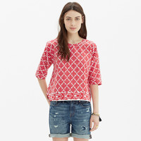 Province Tee in Ikat Bloom