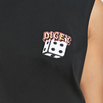 Dicey Graphic Muscle Tee