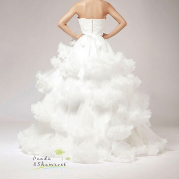 cloud/bridal dress/ wedding gown/bride/all size/custom made/lace