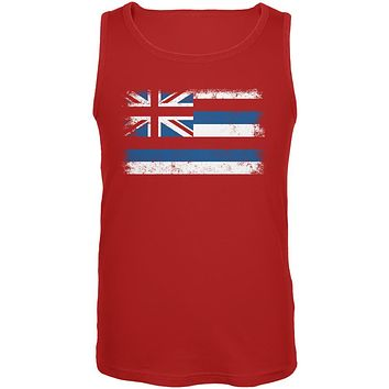 Born and Raised Hawaii State Flag Mens Tank Top