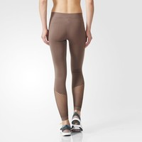 adidas Studio Essentials Seamless Tights - Grey | adidas US
