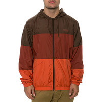 WeSC - Magnus Windbreaker - Dark Chestnut
