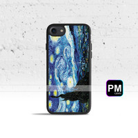 Van Gogh Starry Night Case Cover for Apple iPhone 7 6s 6 SE 5s 5 5c 4s 4 Plus & iPod Touch