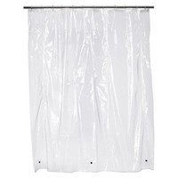 Super Soft Vinyl Shower Curtain Liner - Clear
