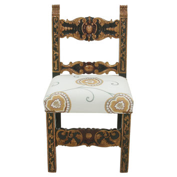 19th-C. Baroque-Style Chair