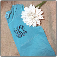Comfort Colors Monogram Tank Top Comfort Colors Tank Top Glitter Tank Monogram Tanktop Monogrammed Tank Top Monogrammed Gifts or Bridesmaid