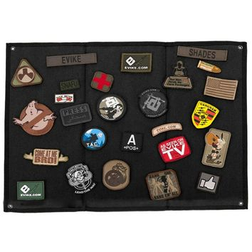 OneTigris Tactical Patch Holder Board Pacth Badges Folding Mat for All Morale Patches ID Patches Name Tapes
