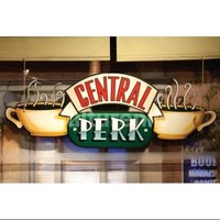 Friends Central Perk Window (Pending Approval) Poster Print (36 X 24) - Walmart.com