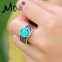 Bohemia Retro Color Change Mood Ring Emotion Feeling Changeable Ring Temperature