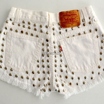 """ALL SIZES """"Felicity"""" High Waisted Shorts"""