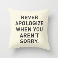Motivational Throw Pillow by Motivational