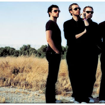 Coldplay Band Portrait Poster 11x17