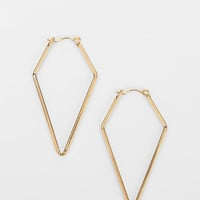Urban Outfitters - Diamond Hoop Earring