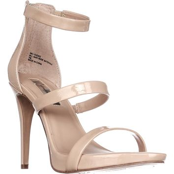 I35 Sadiee Strappy Dress Sandals, Summder Nude, 8.5 US