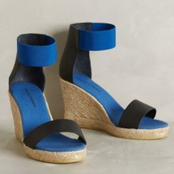 Sarah Summer Cerali Wedges Black