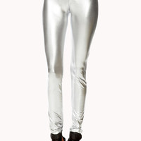 Luxe Metallic Skinny Pants