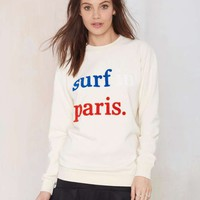 Cuisse de Grenoiulle Surf in Paris Sweatshirt