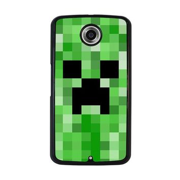 creeper minecraft 2 nexus 6 case cover  number 1