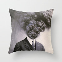 Outburst Throw Pillow by J U M P S I C K ▼▲ | Society6