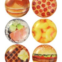 FOODIE IPHONE HOME BUTTON PACK