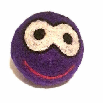 Handmade, antistres,motivational felted ball