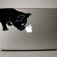 "French Bulldog Sniff Decal for 13"" Macbook"